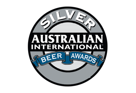 Australian International Beer Awards Silver Medal