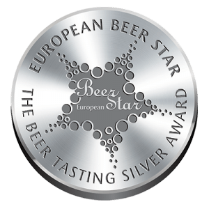 European Beer Star Beer Tasting Silver Award